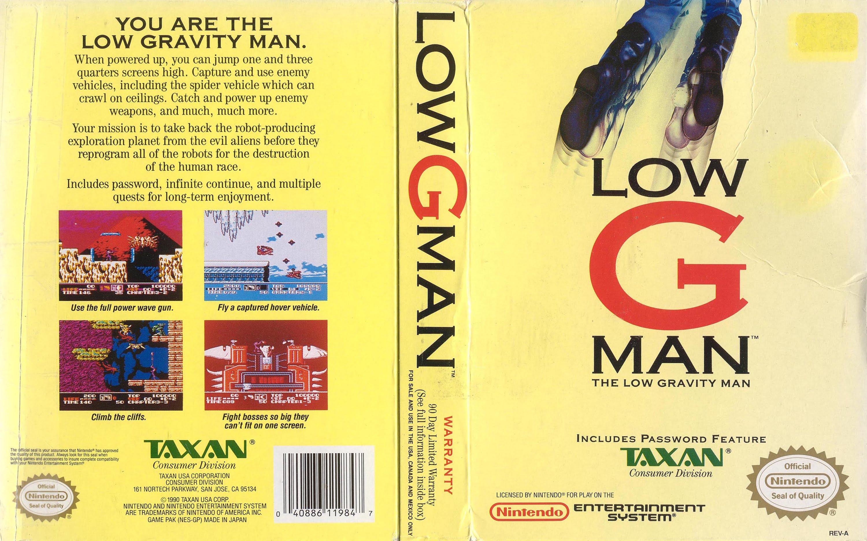 Low G Man #21
