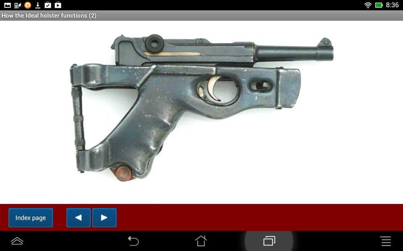 Luger Pistol Backgrounds, Compatible - PC, Mobile, Gadgets| 1280x800 px