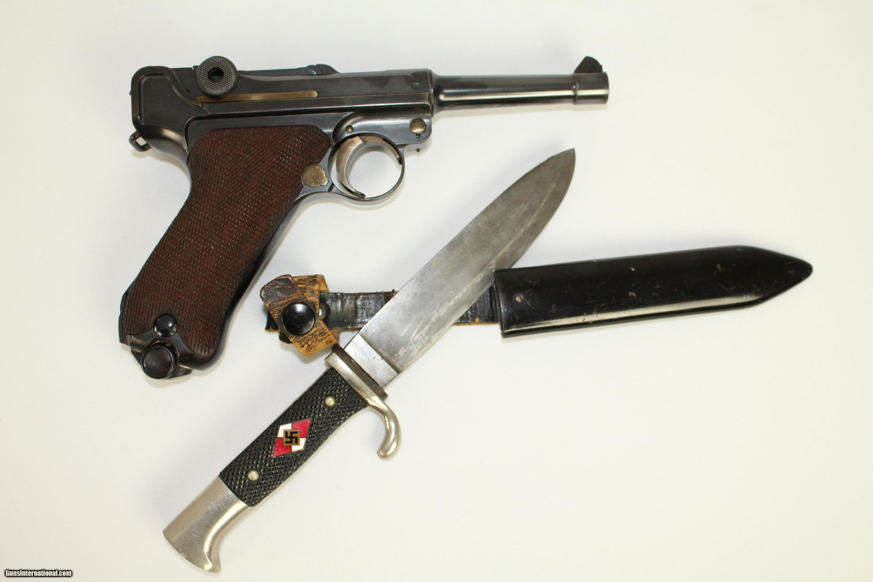 HD Quality Wallpaper | Collection: Weapons, 3000x2000 Luger Pistol