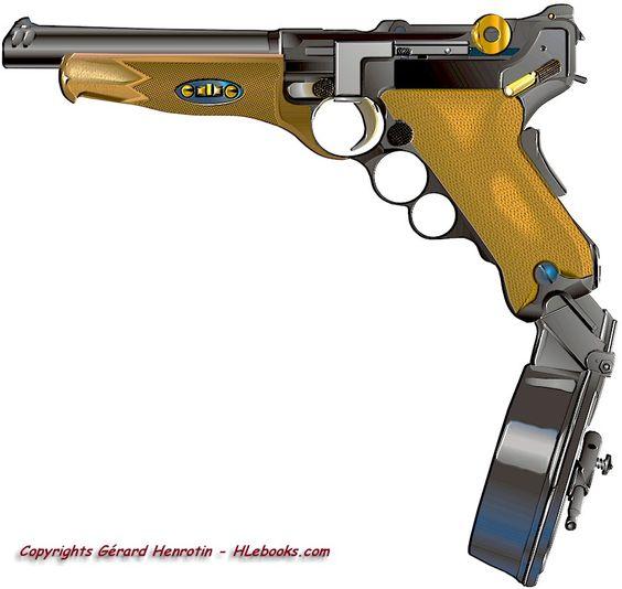 High Resolution Wallpaper | Luger Pistol 564x534 px