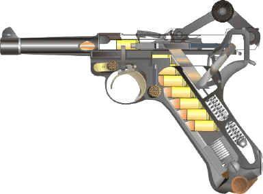Nice Images Collection: Luger Pistol Desktop Wallpapers