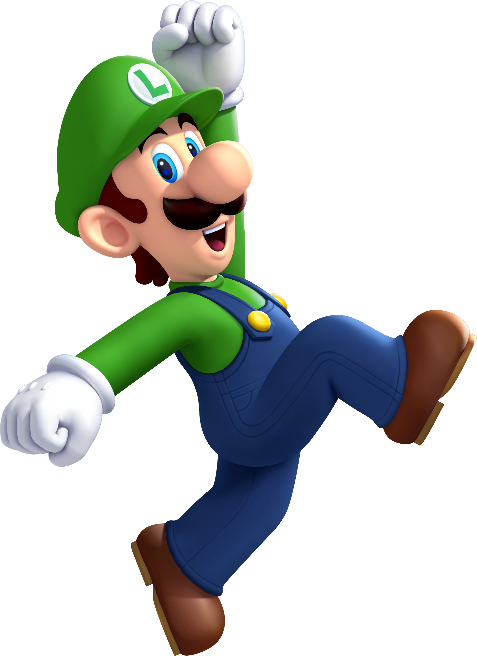 HD Quality Wallpaper | Collection: Video Game, 1946x2674 Luigi