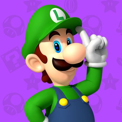 High Resolution Wallpaper | Luigi 400x400 px