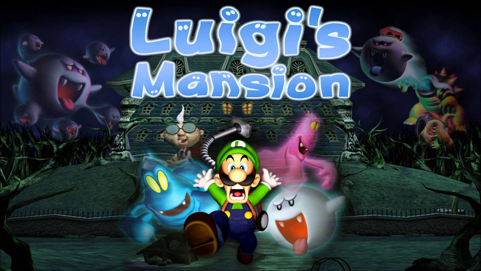 Nice Images Collection: Luigi's Mansion Desktop Wallpapers