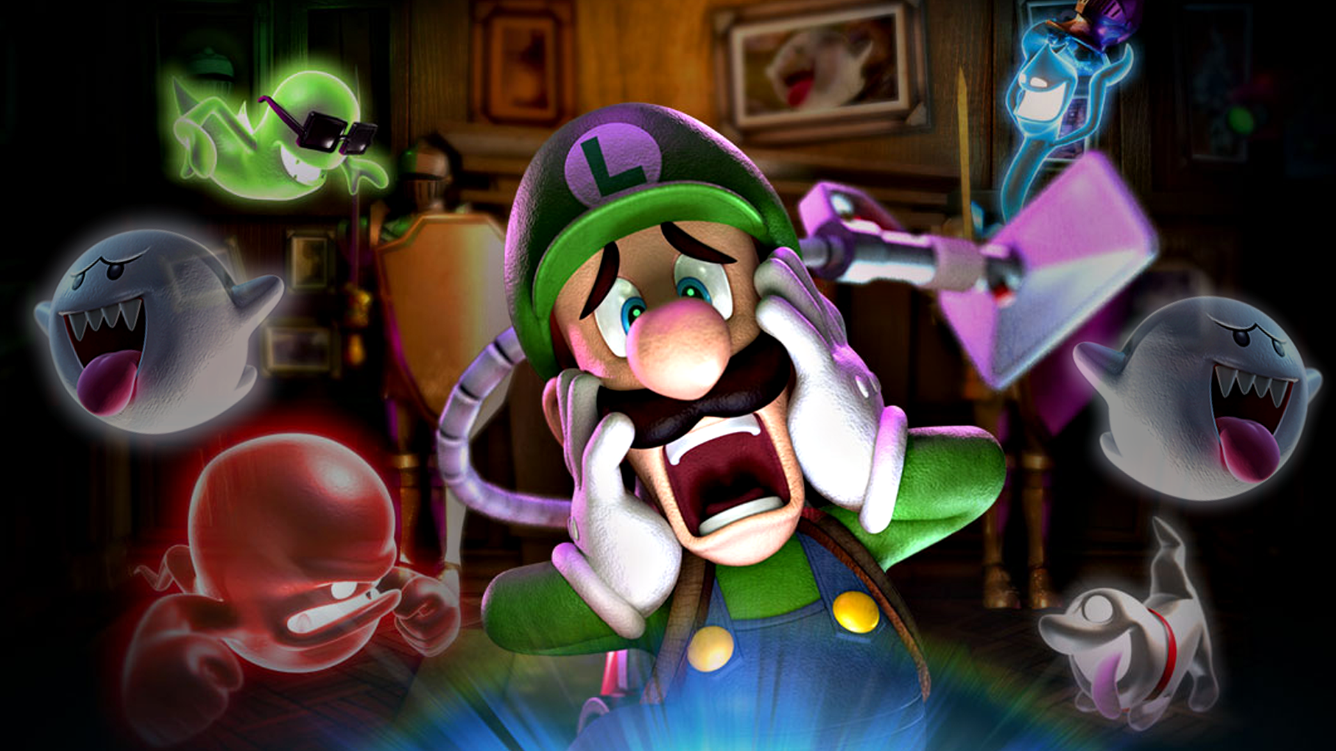 Nice wallpapers Luigi's Mansion 2 1920x1080px