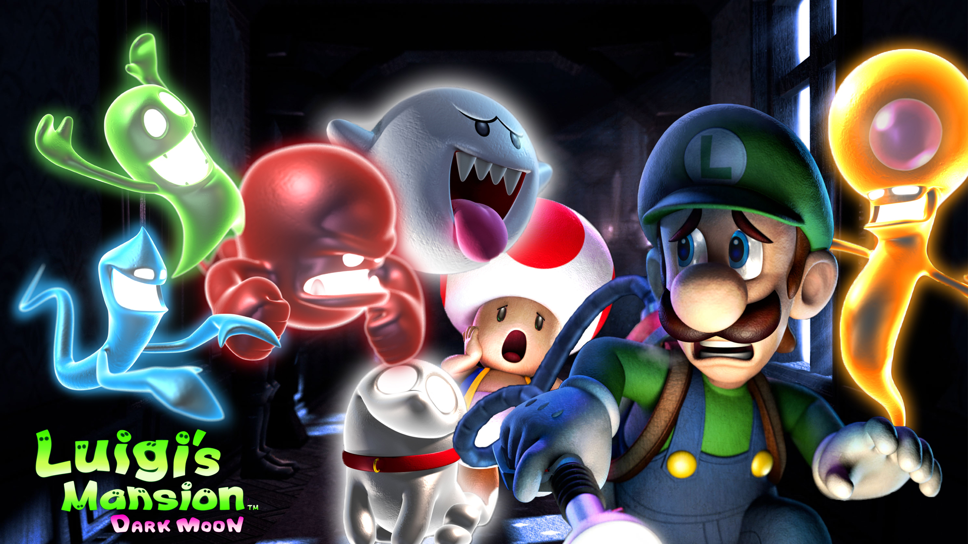 1920x1080 > Luigi's Mansion Wallpapers