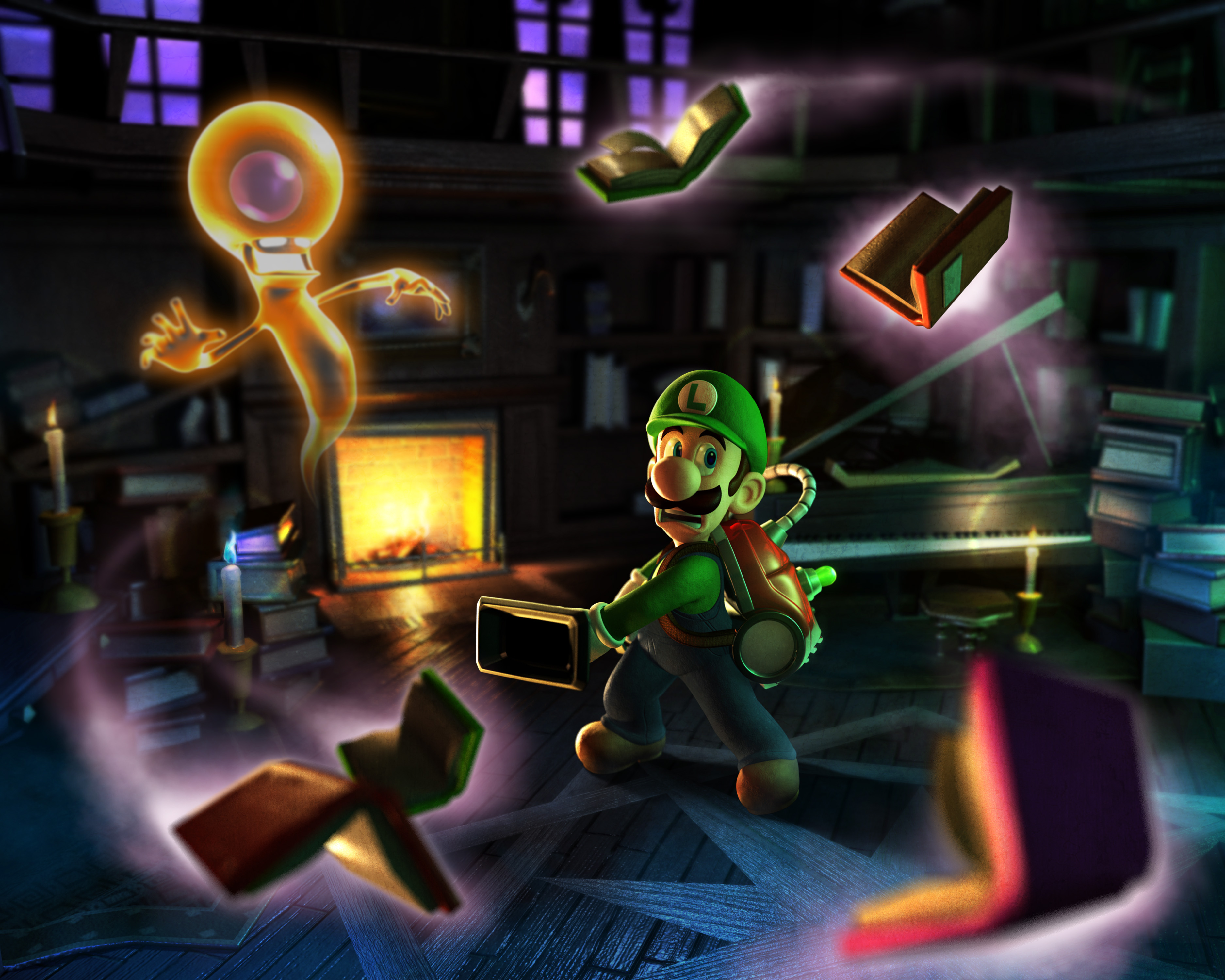 High Resolution Wallpaper | Luigi's Mansion 2 3750x3000 px