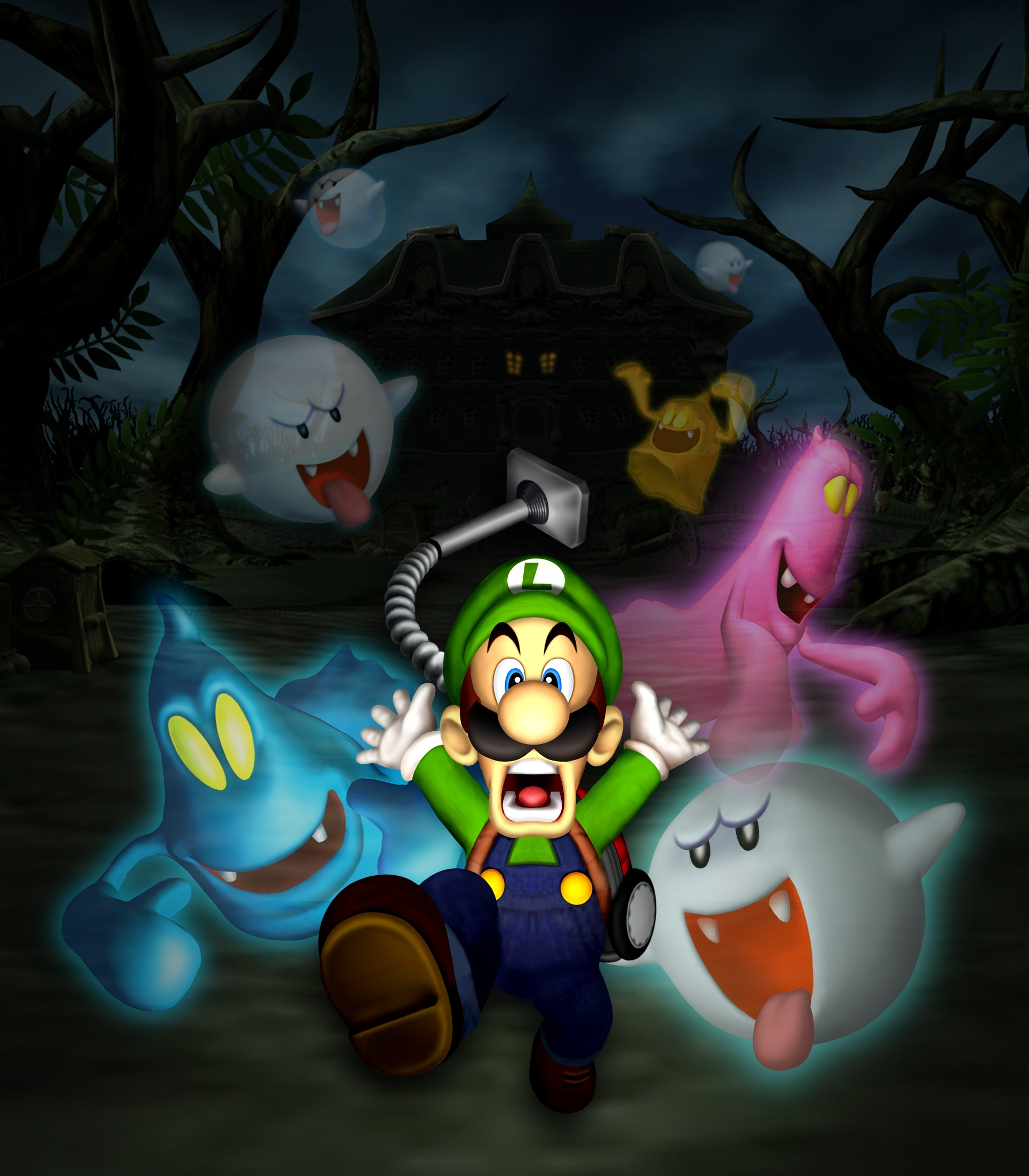 1929x2205 > Luigi's Mansion Wallpapers