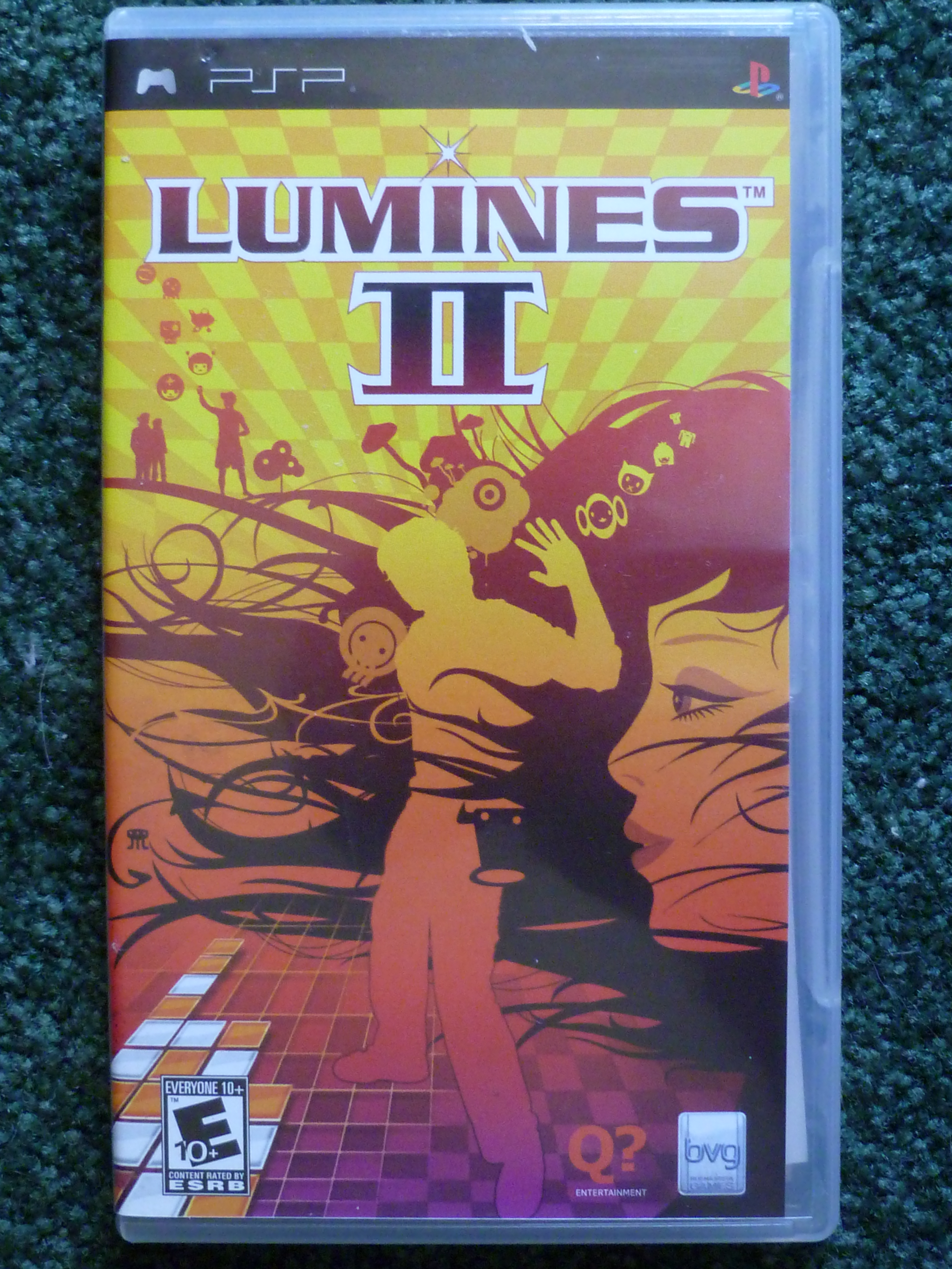 Lumines II Backgrounds on Wallpapers Vista