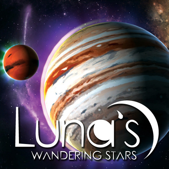 Nice Images Collection: Luna's Wandering Stars Desktop Wallpapers