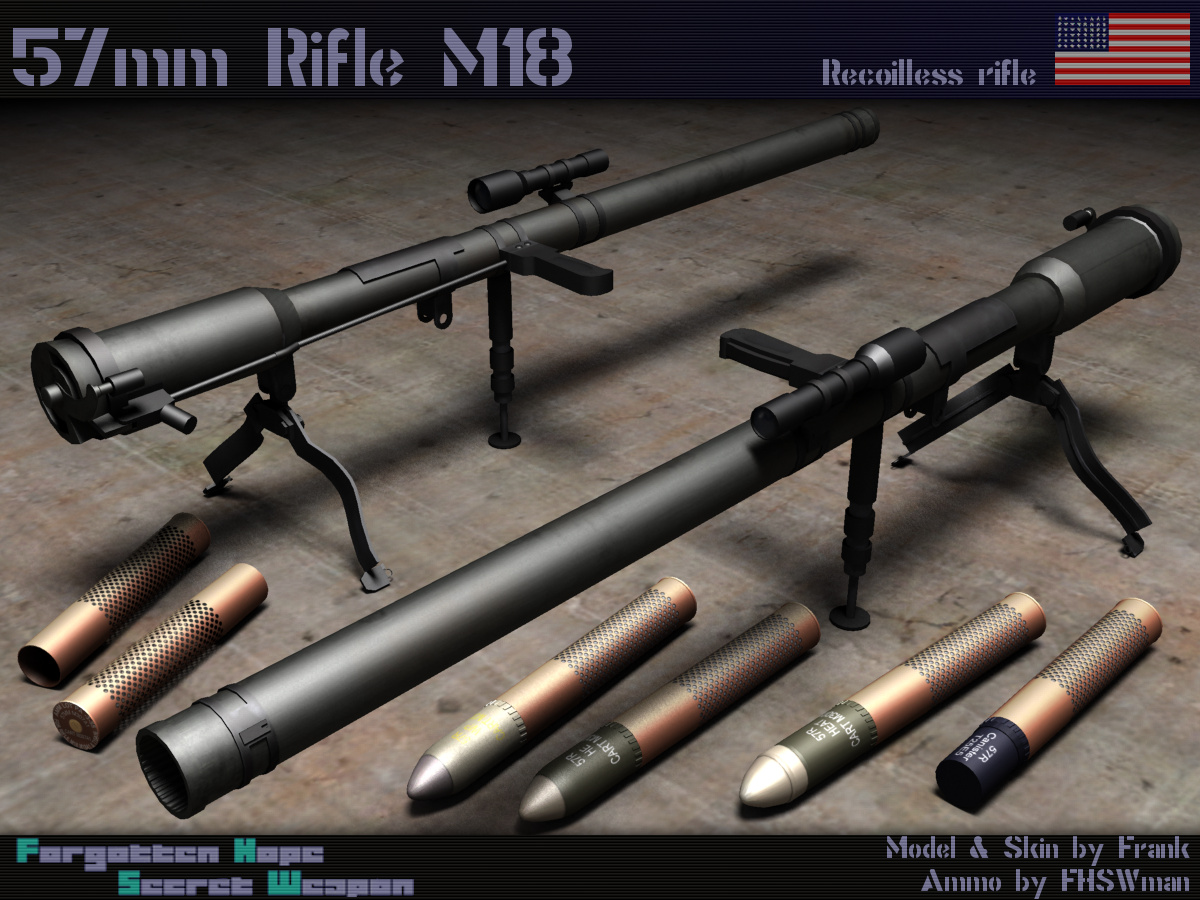Images of M18 57mm Recoilless Rifle | 1200x900