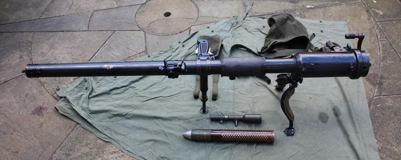 HD Quality Wallpaper | Collection: Weapons, 800x319 M18 57mm Recoilless Rifle