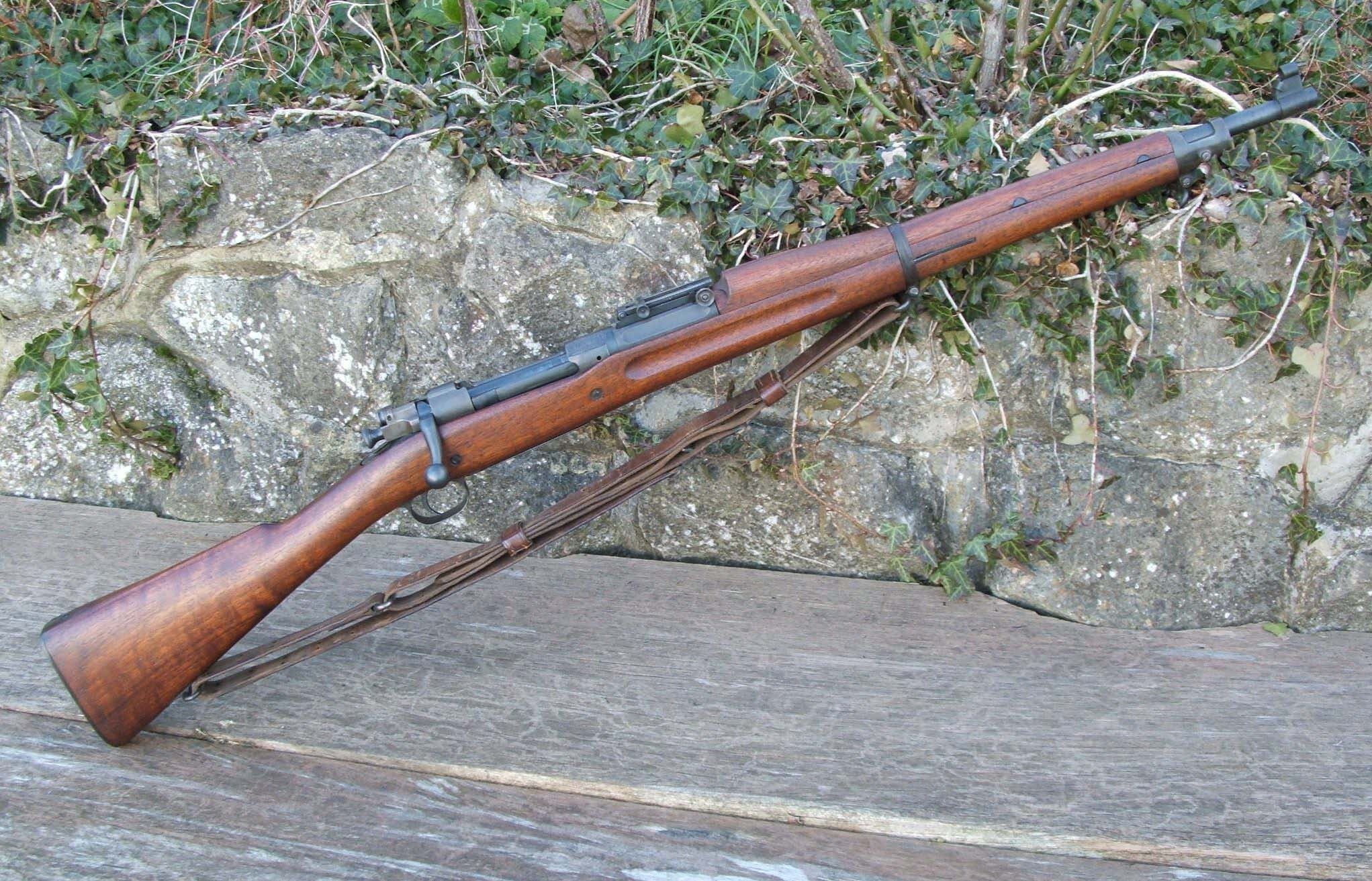 M1903 Springfield Rifle High Quality Background on Wallpapers Vista