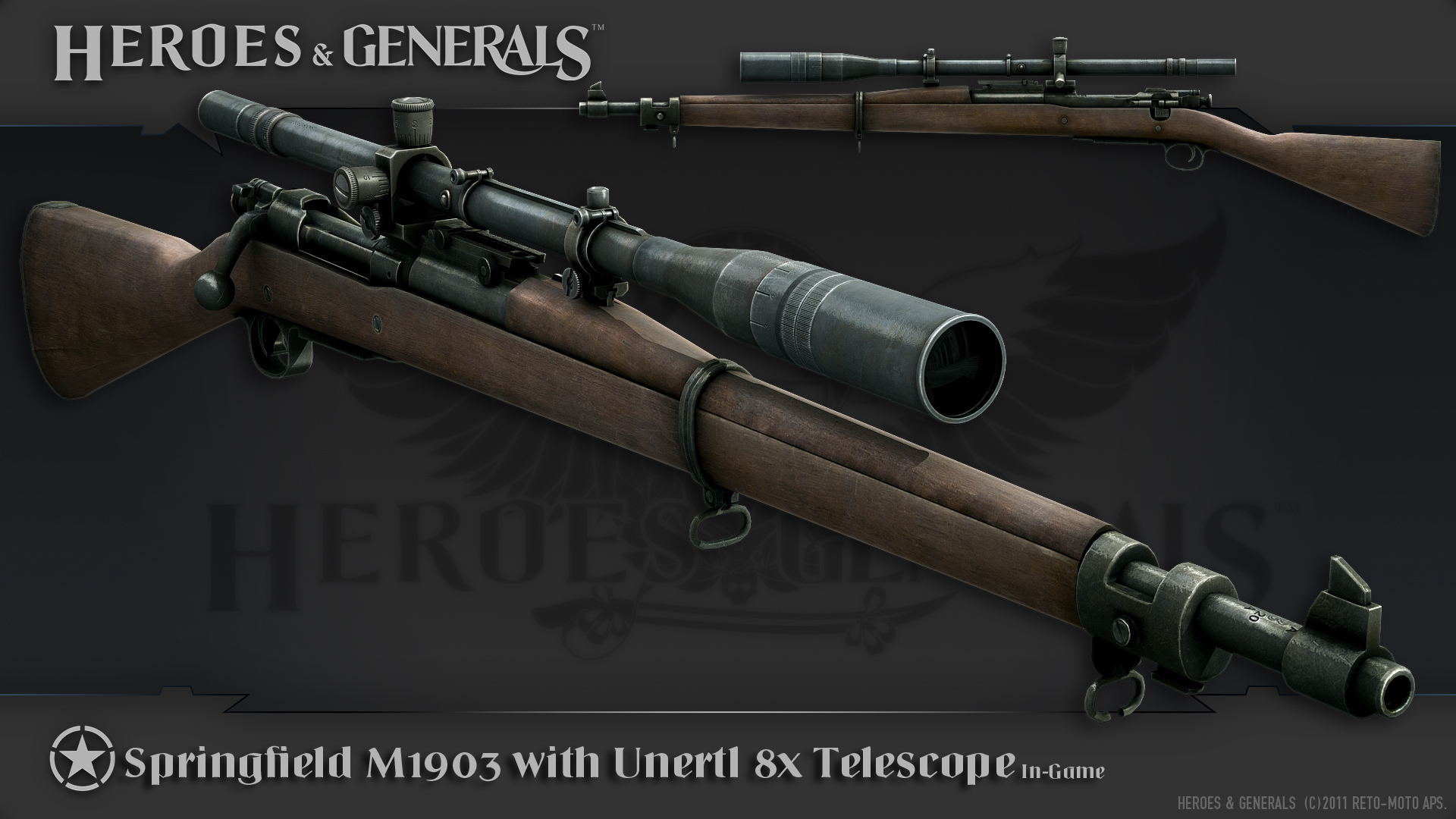 1920x1080 > M1903 Springfield Rifle Wallpapers