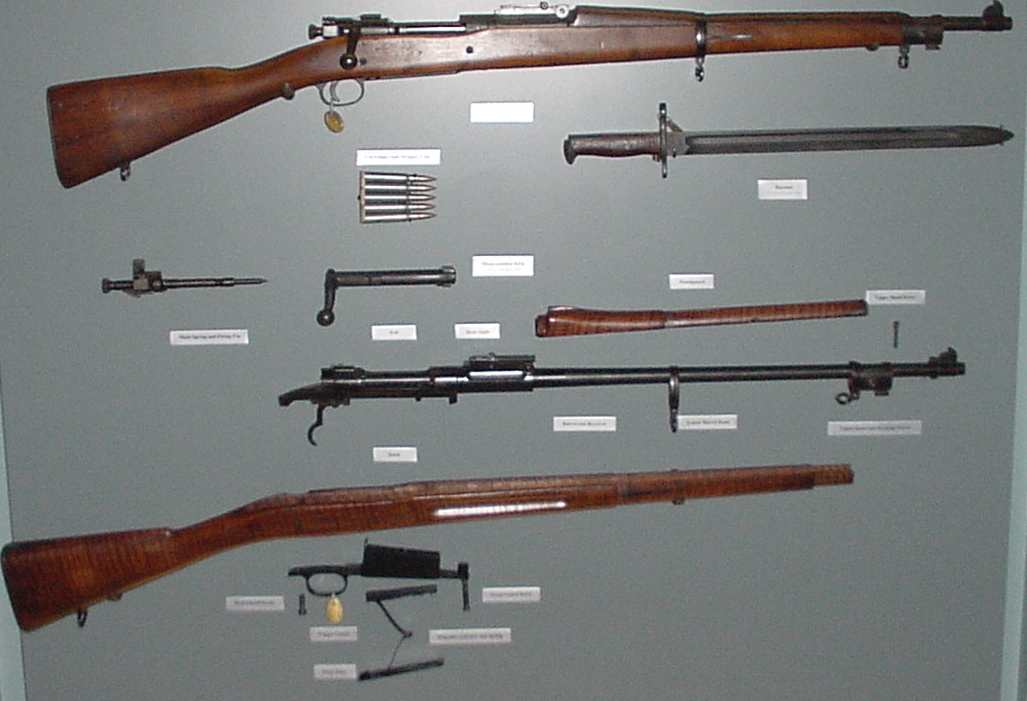 High Resolution Wallpaper | M1903 Springfield Rifle 1027x701 px