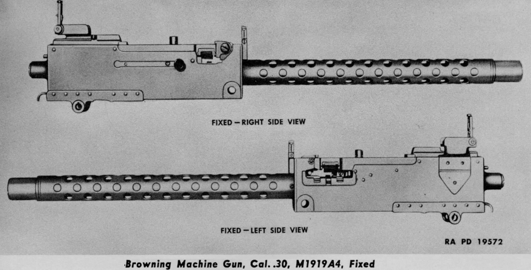 HQ M1919 Browning Machine Gun Wallpapers   File 180.22Kb