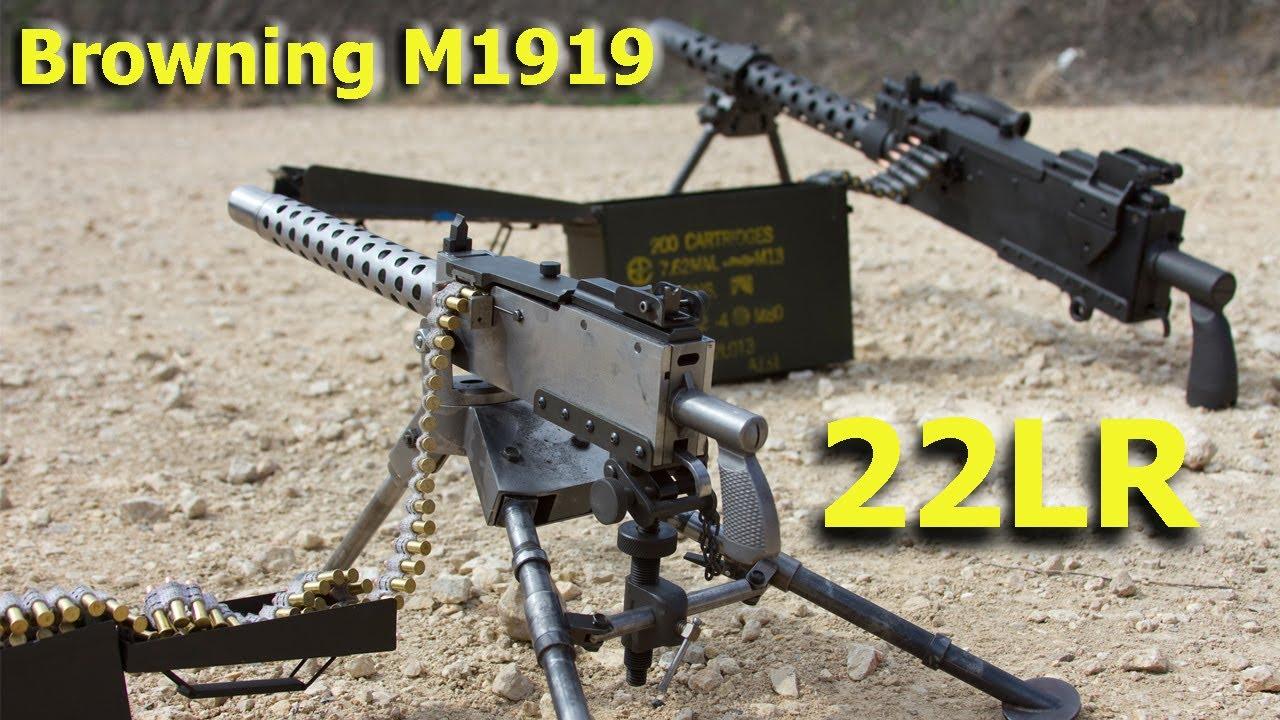 Nice Images Collection: M1919 Browning Machine Gun Desktop Wallpapers