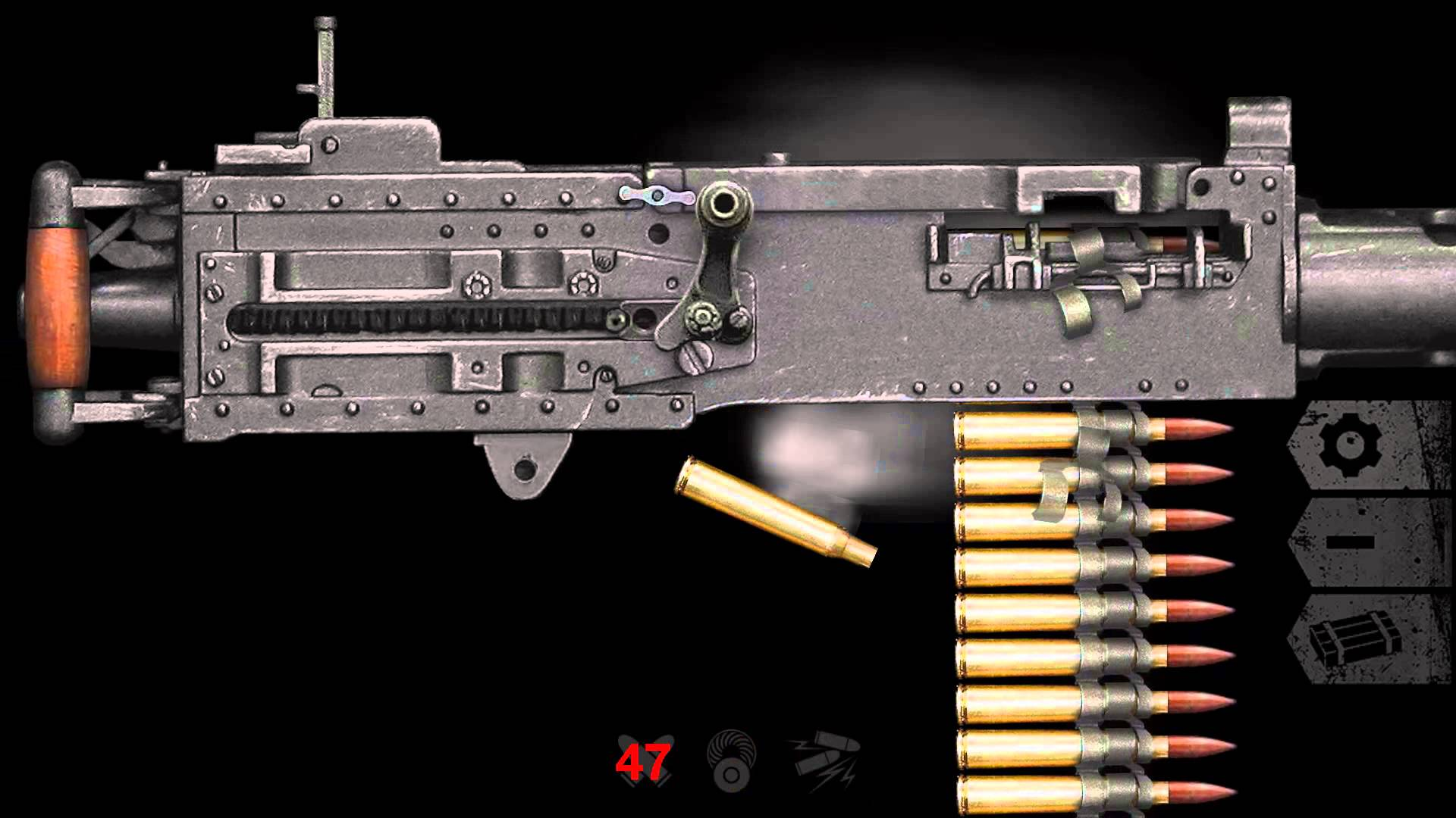 M2 Browning Backgrounds, Compatible - PC, Mobile, Gadgets| 1920x1080 px