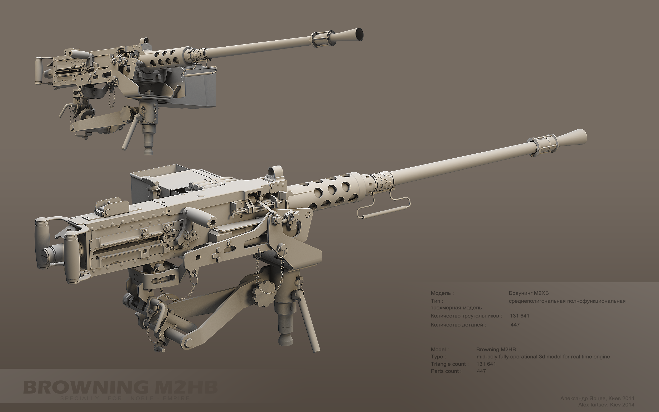 High Resolution Wallpaper | M2 Browning 2500x1563 px