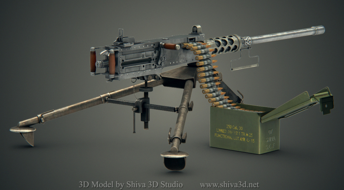 Nice Images Collection: M2 Browning Desktop Wallpapers