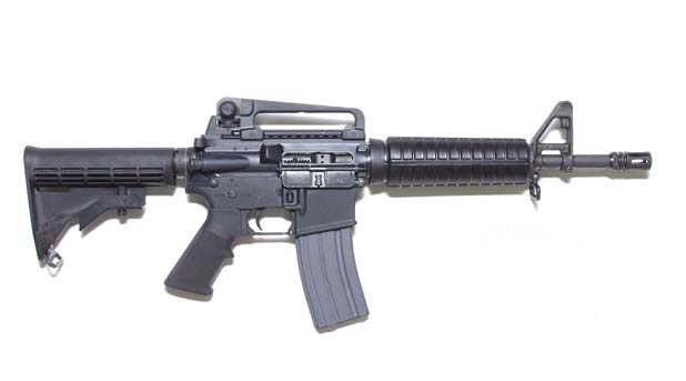 HD Quality Wallpaper | Collection: Weapons, 618x343 M4 Carbine