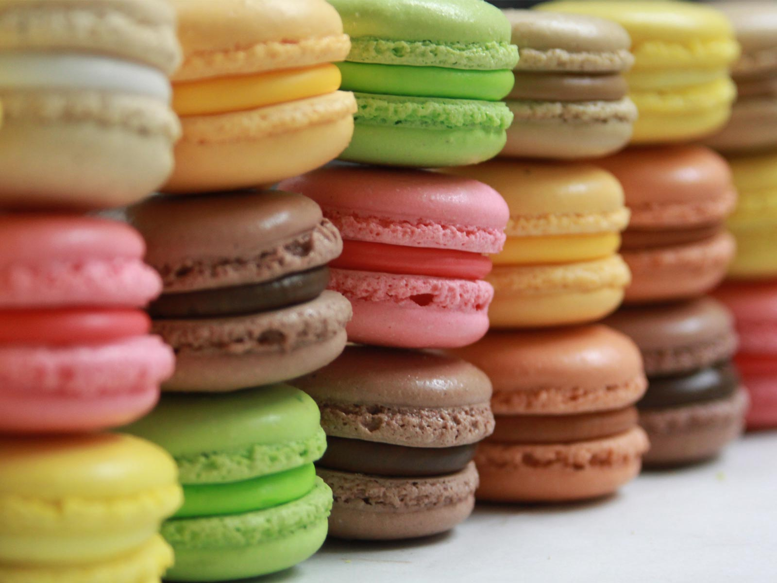 Nice Images Collection: Macaron Desktop Wallpapers