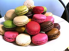HD Quality Wallpaper | Collection: Food, 220x164 Macaron