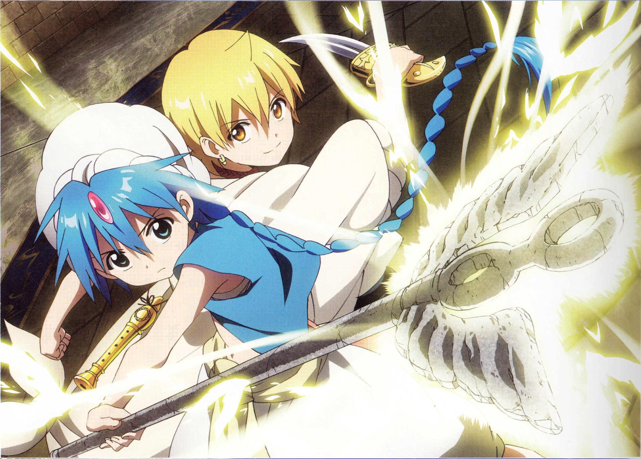 Magi The Labyrinth Of Magic Wallpapers Anime Hq Magi The