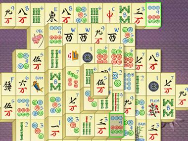 Nice wallpapers Mahjong 380x285px