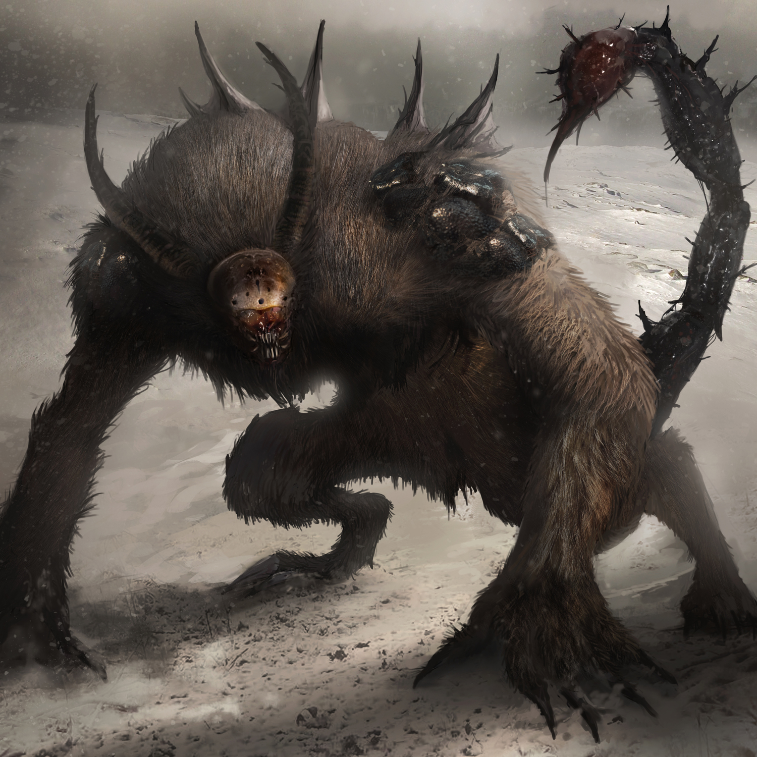 Nice wallpapers Manticore 1500x1500px
