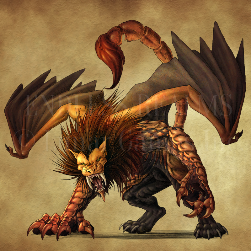 Nice Images Collection: Manticore Desktop Wallpapers
