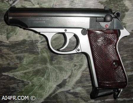 Manurhin PP Pistol Backgrounds, Compatible - PC, Mobile, Gadgets  450x350 px