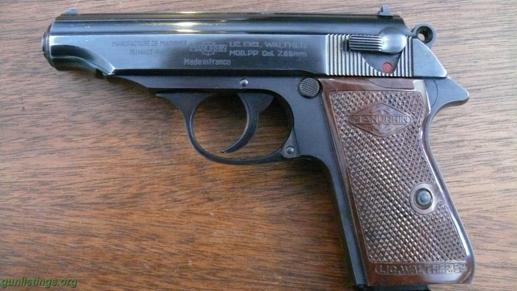 1024x576 > Manurhin PP Pistol Wallpapers