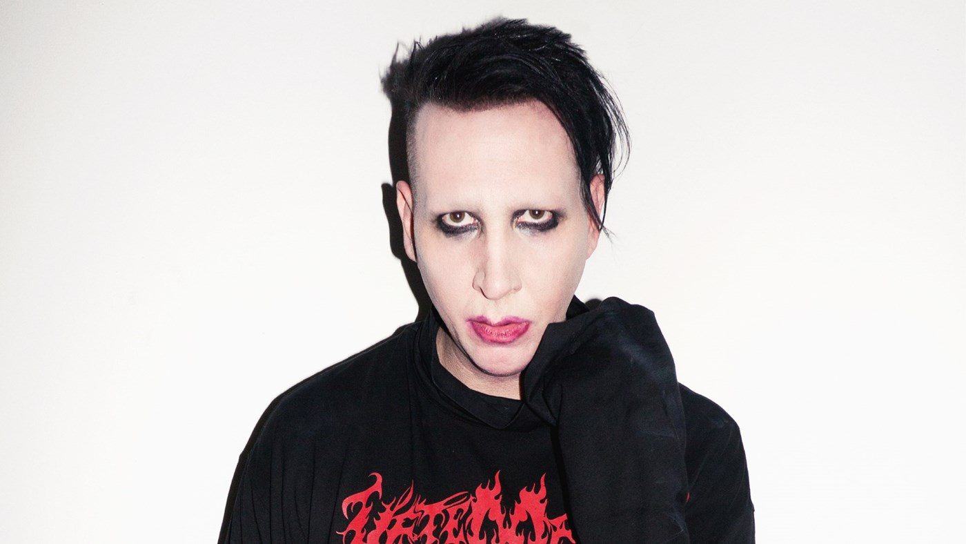 HD Quality Wallpaper   Collection: Music, 1400x788 Marilyn Manson