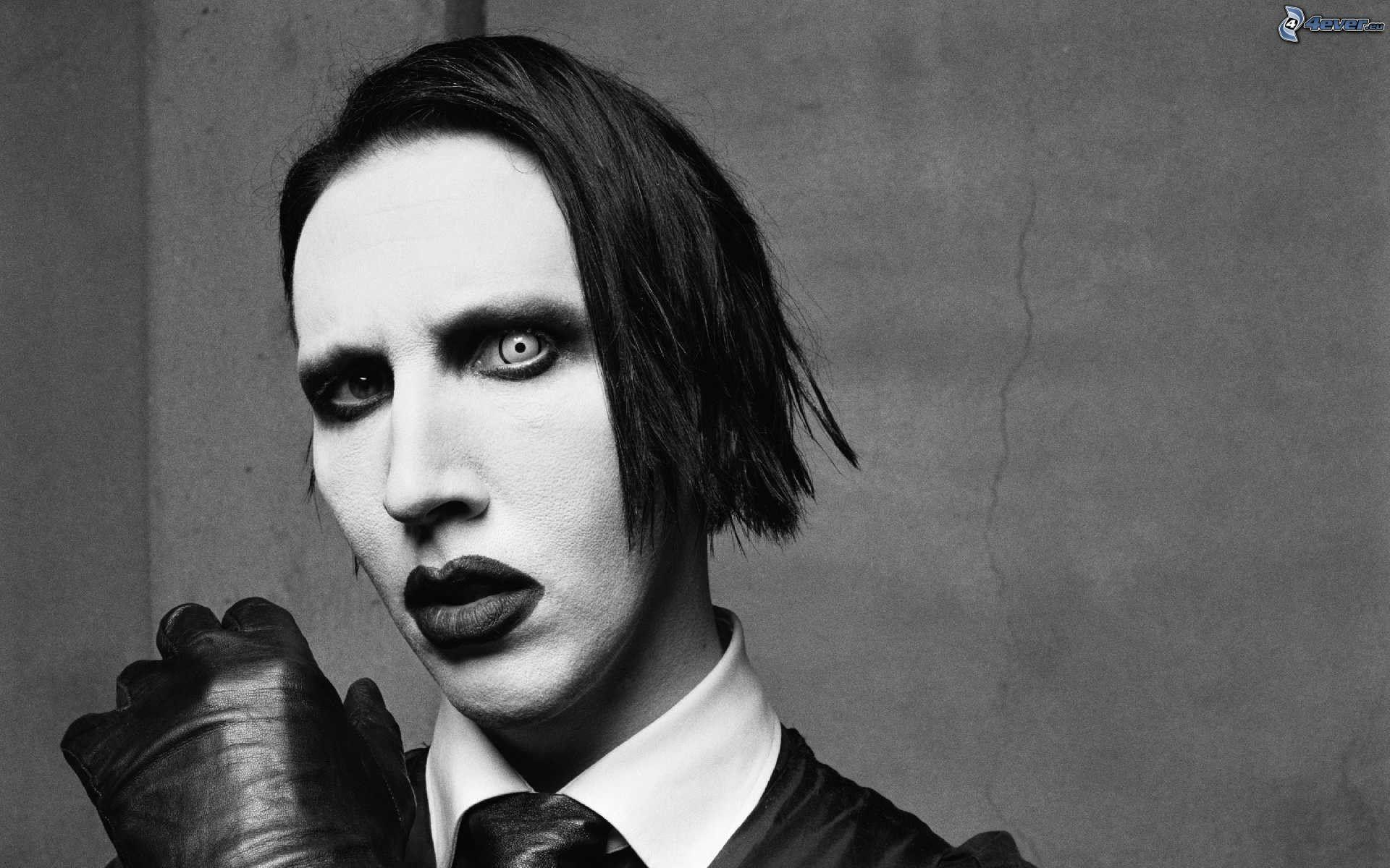 HD Quality Wallpaper   Collection: Music, 1920x1200 Marilyn Manson