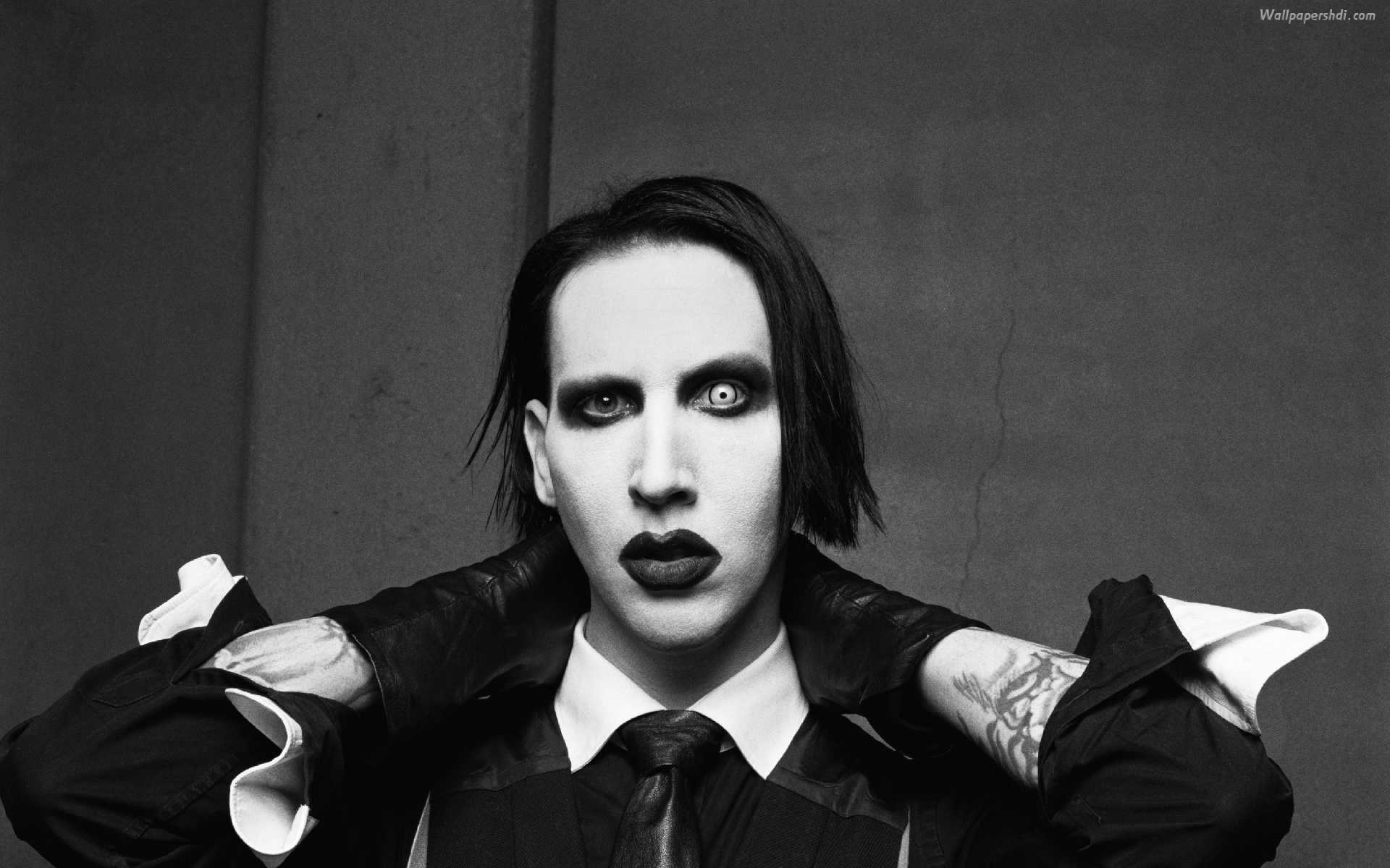 Nice wallpapers Marilyn Manson 1920x1200px