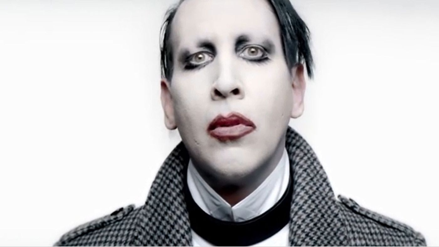 HQ Marilyn Manson Wallpapers   File 72.54Kb