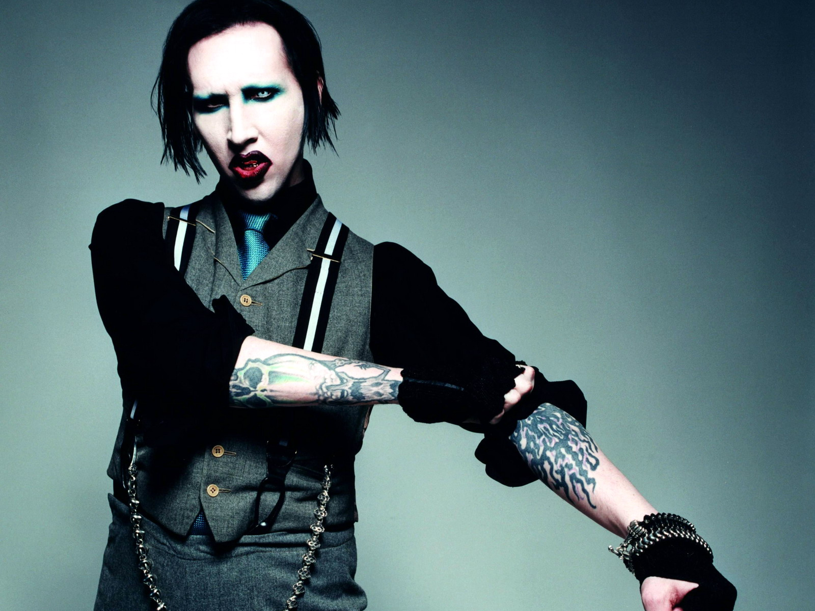 Marilyn Manson Backgrounds, Compatible - PC, Mobile, Gadgets  1600x1200 px