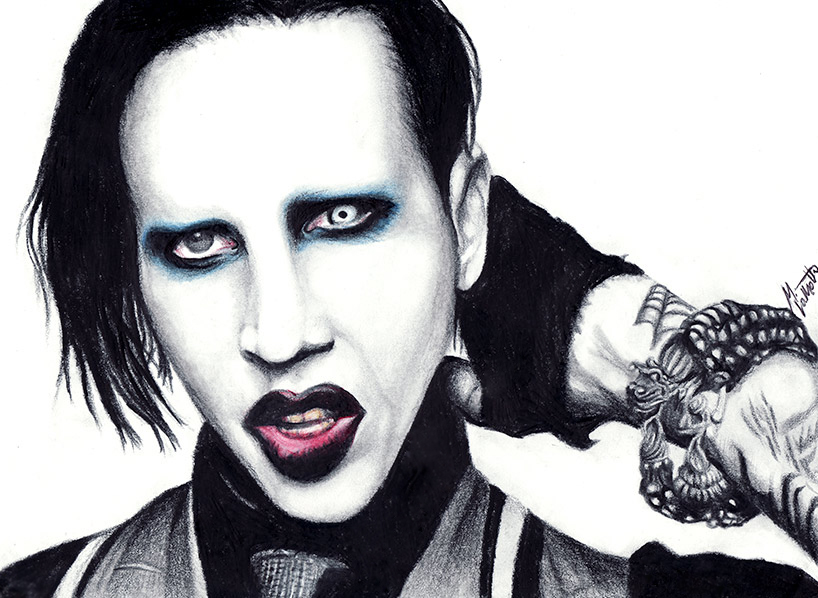 Marilyn Manson Backgrounds, Compatible - PC, Mobile, Gadgets  818x598 px
