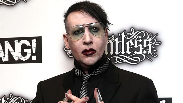 High Resolution Wallpaper   Marilyn Manson 640x360 px