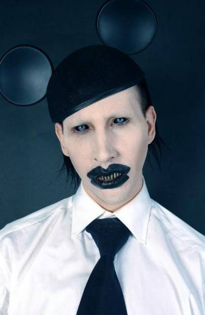 Nice Images Collection: Marilyn Manson Desktop Wallpapers
