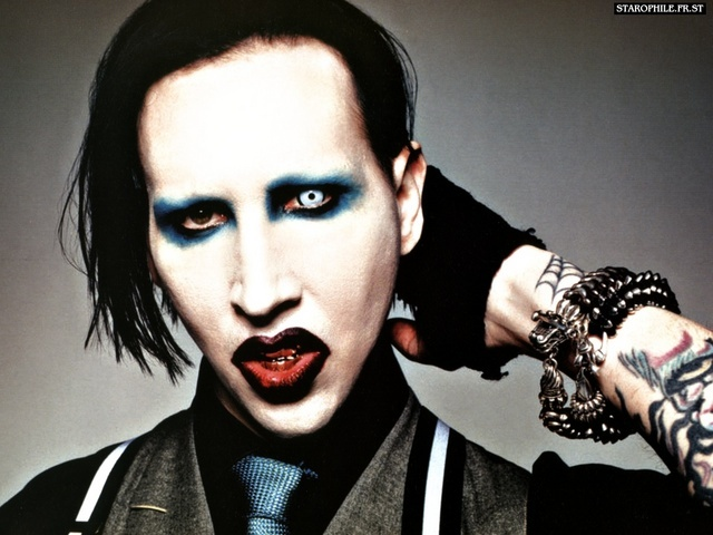 Marilyn Manson Backgrounds on Wallpapers Vista