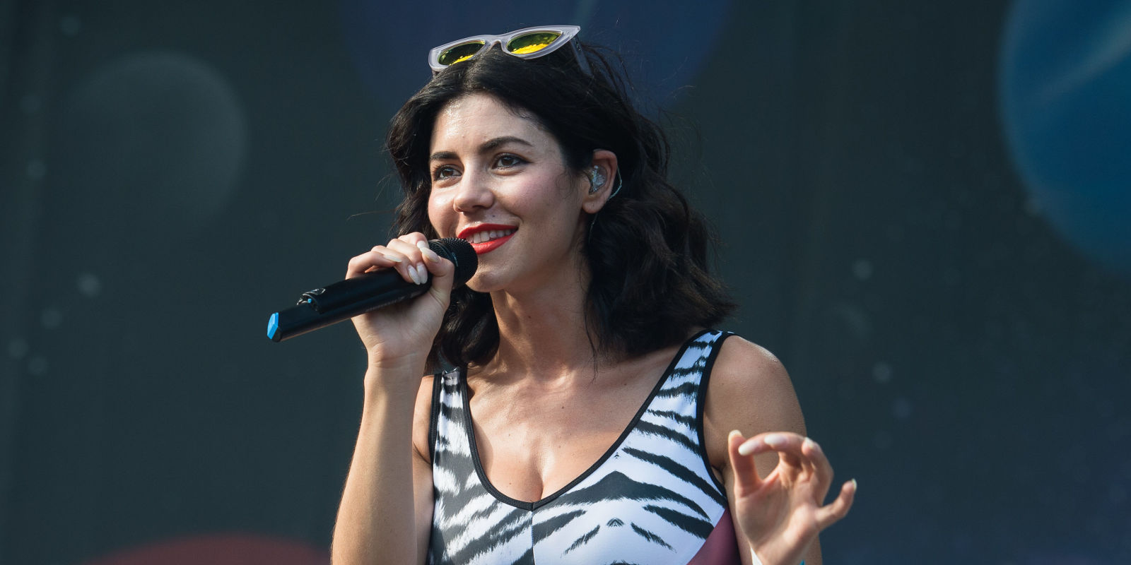 HD Quality Wallpaper   Collection: Music, 1600x800 Marina And The Diamonds