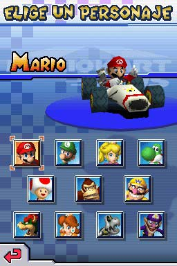mario kart ds rob unlock