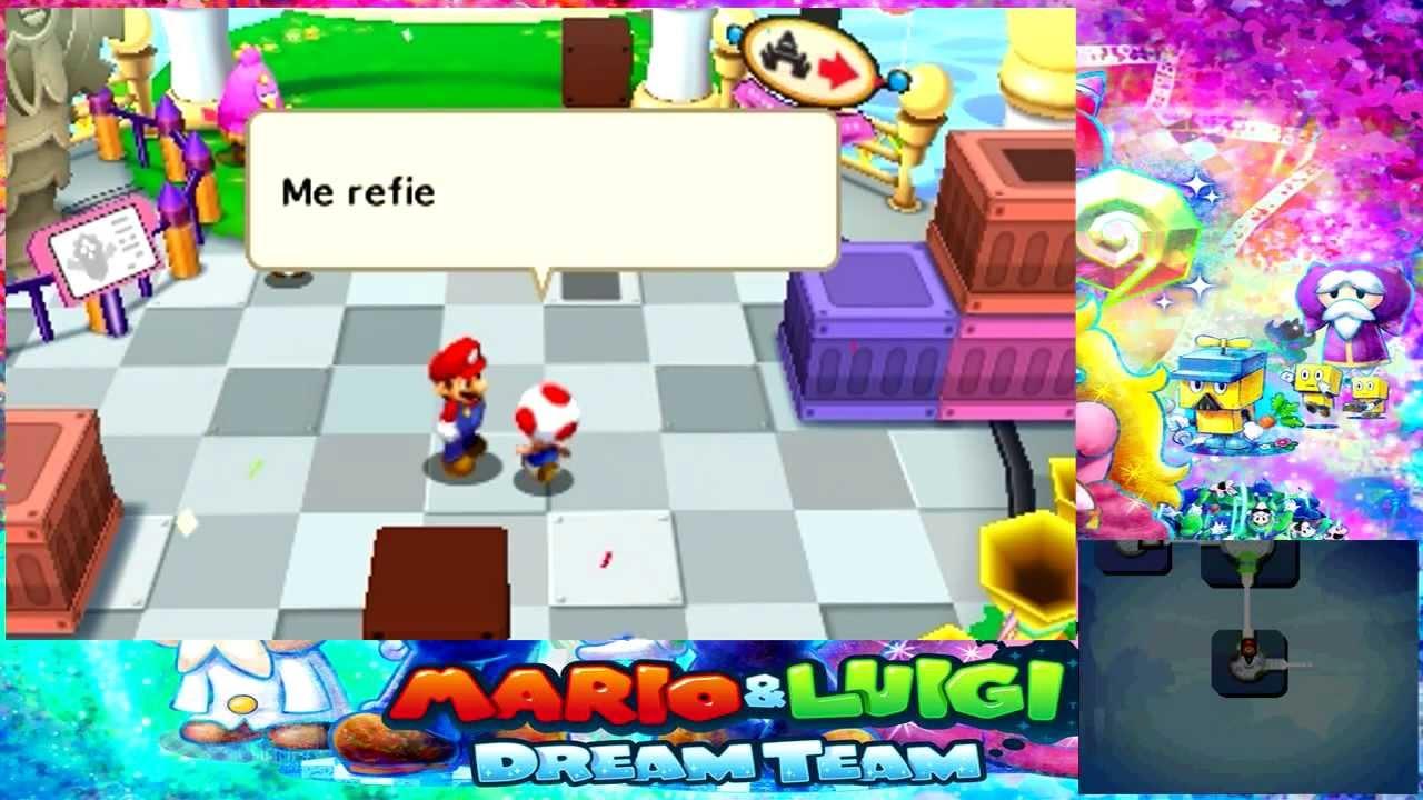 Mario Luigi Dream Team Wallpapers Video Game Hq Mario Luigi