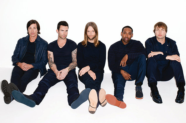 Nice Images Collection: Maroon 5 Desktop Wallpapers