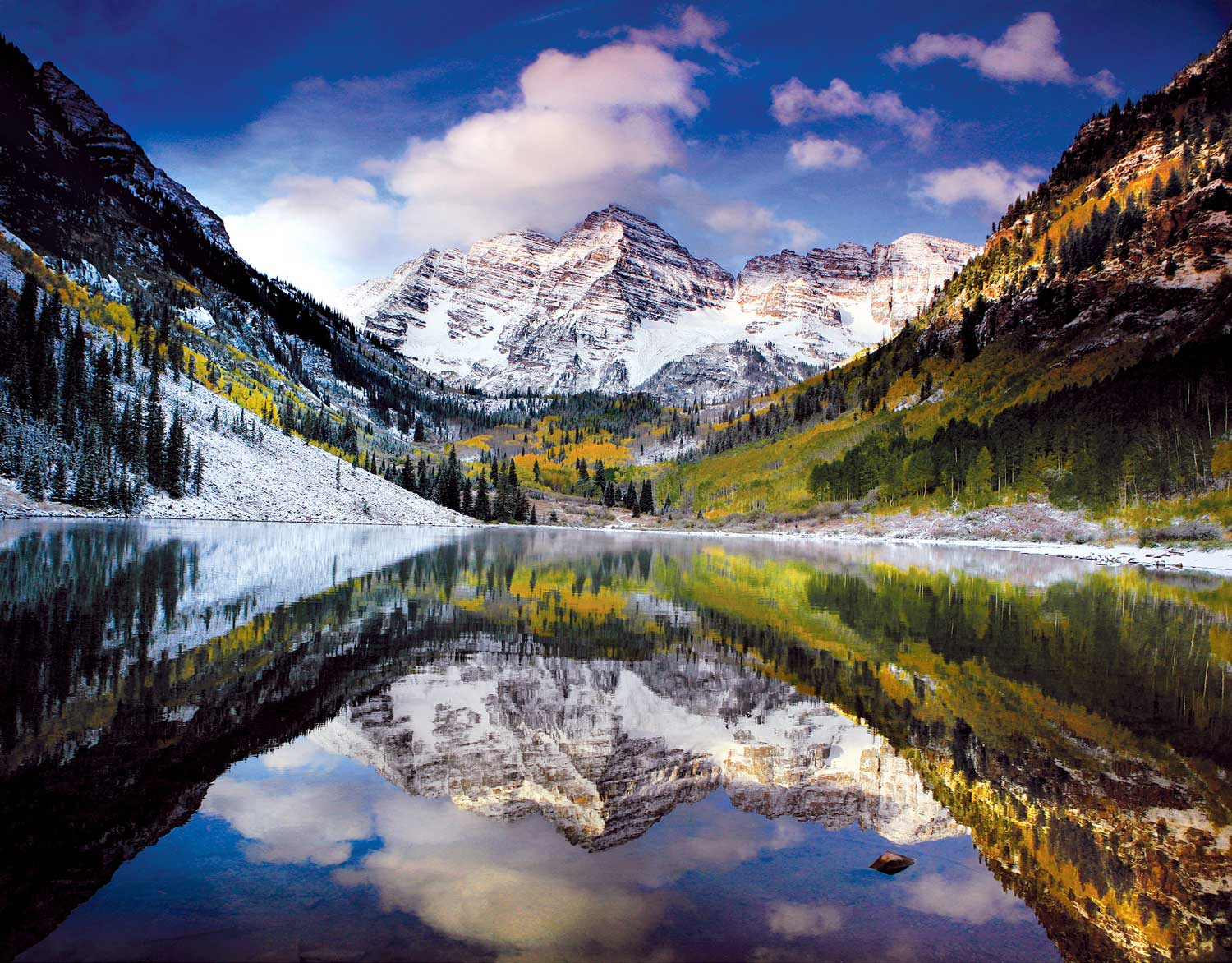 HD Quality Wallpaper | Collection: Earth, 1500x1172 Maroon Bells
