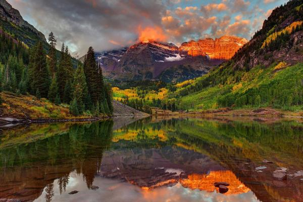 Images of Maroon Bells | 600x400
