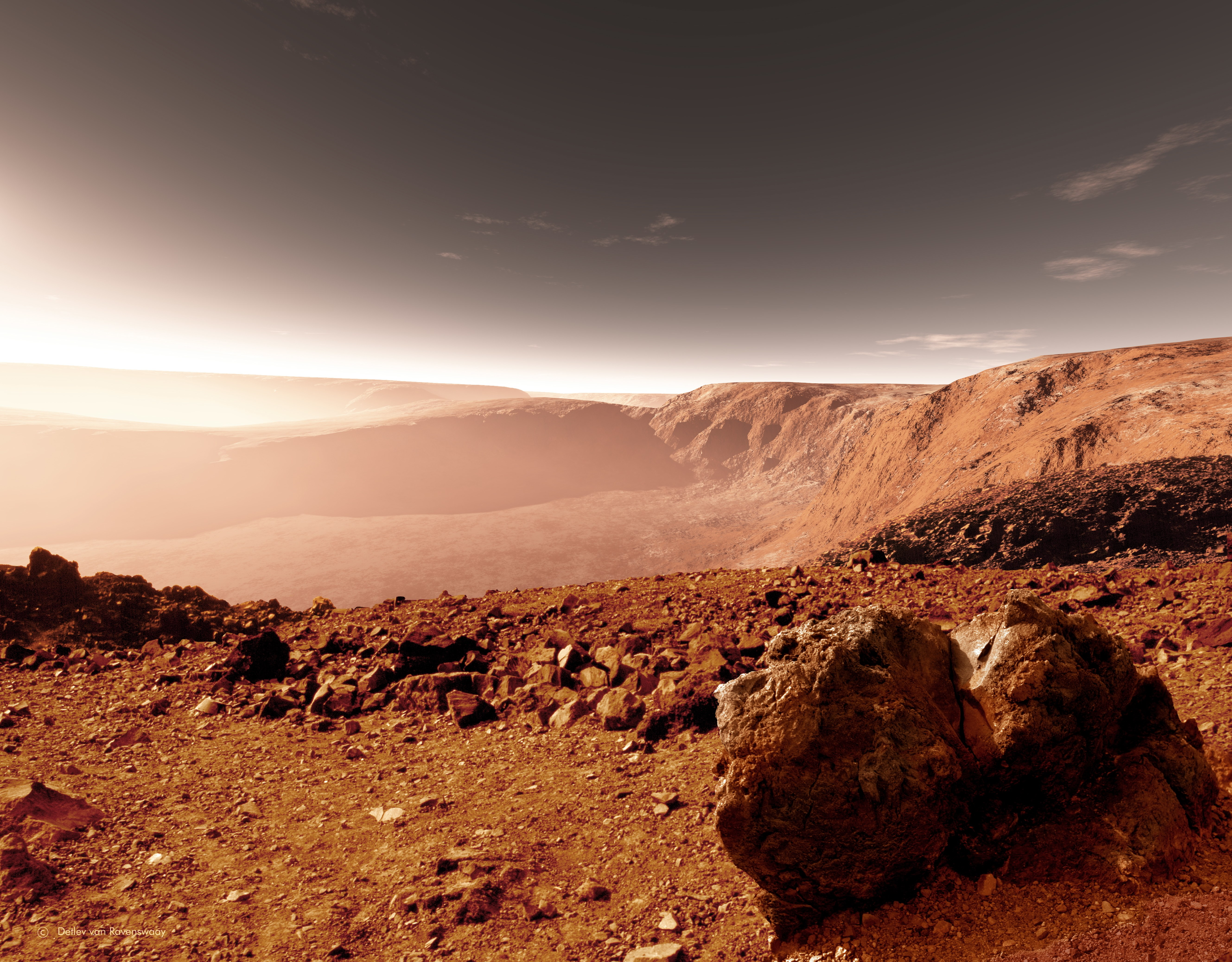 Nice Images Collection: Mars Desktop Wallpapers