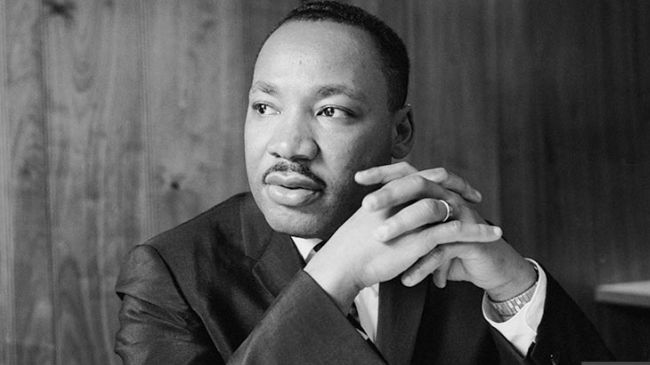 HD Quality Wallpaper | Collection: Men, 650x365 Martin Luther King Jr